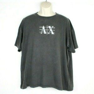 Vintage 90s ARMANI Exchange Shirt Mens 2xl Spellou
